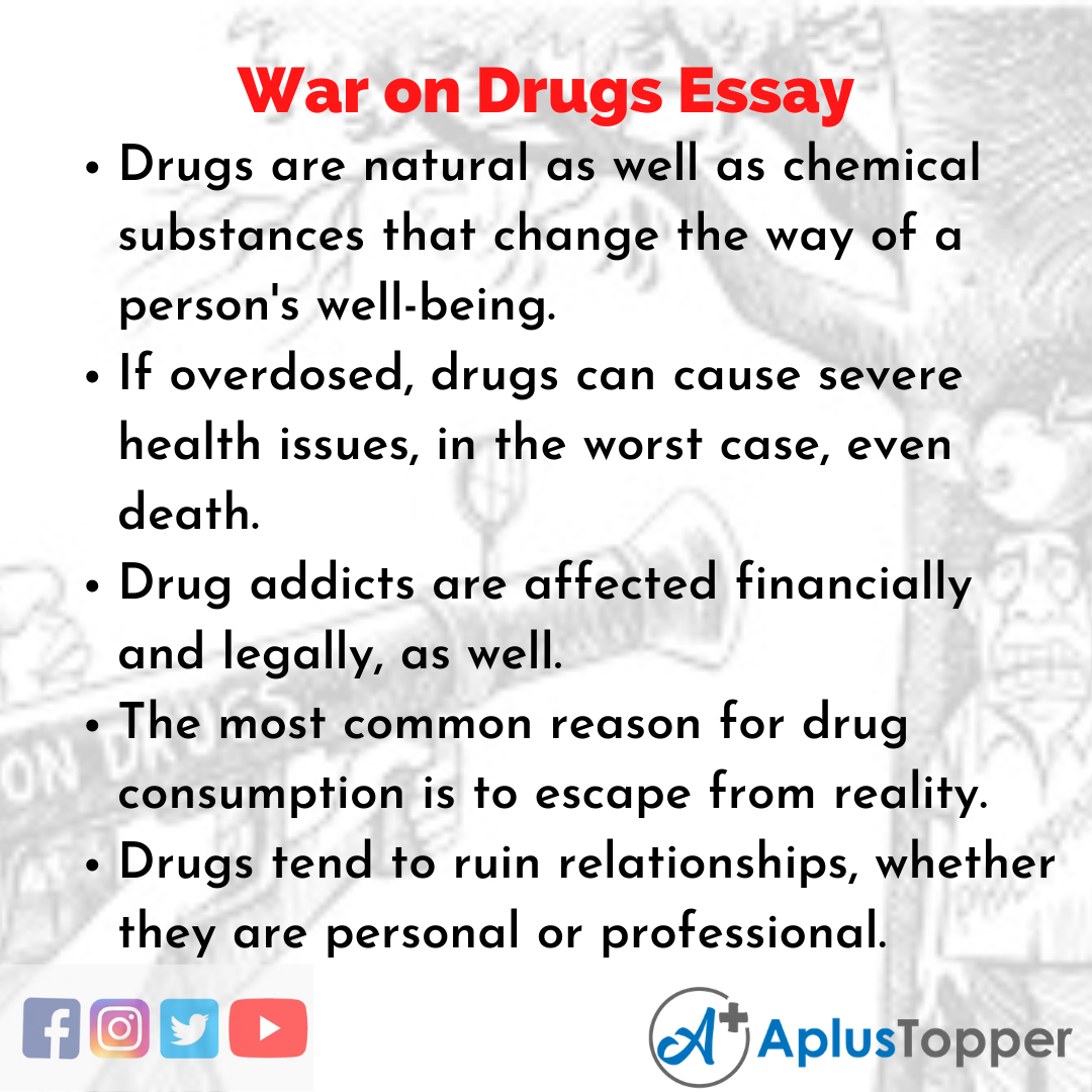 Essay about War on Drugs