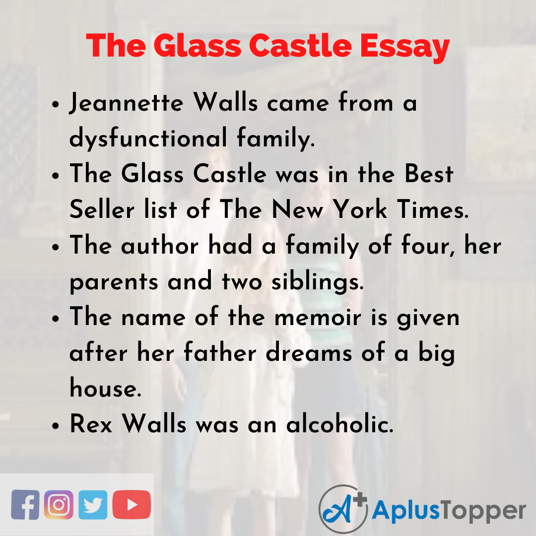Essay about the Glass Castle