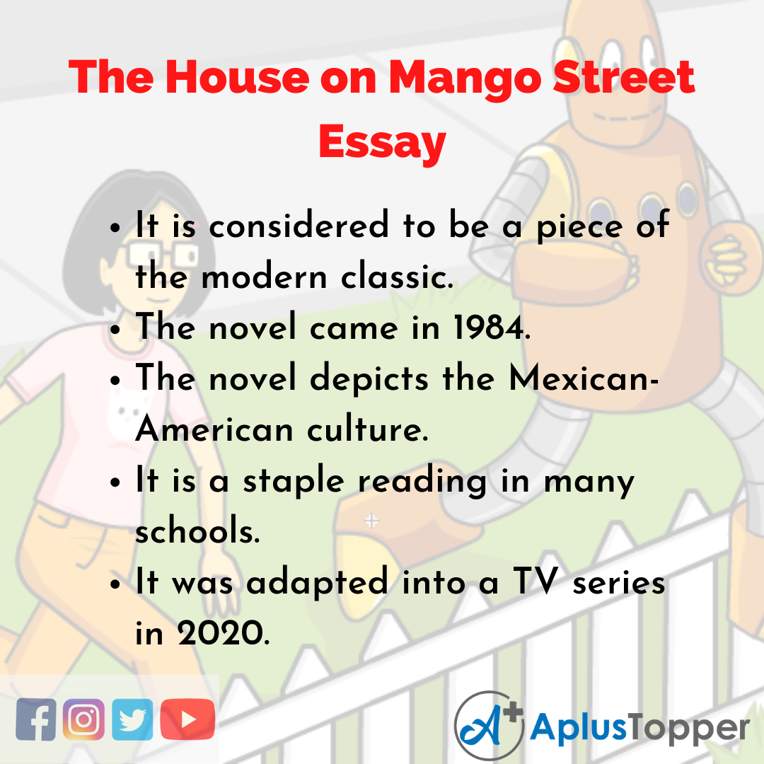 Essay about the House on Mango Street