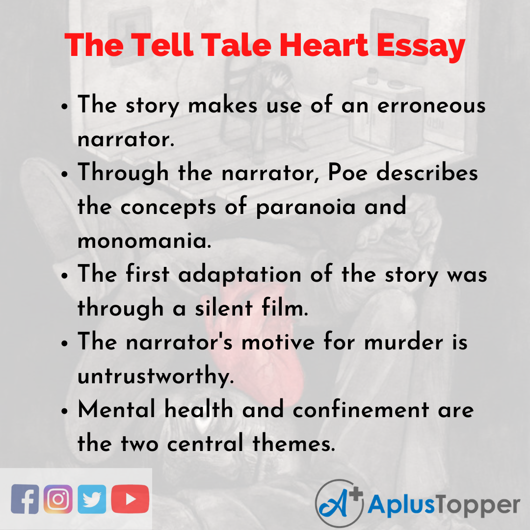Essay about the Tell Tale Heart