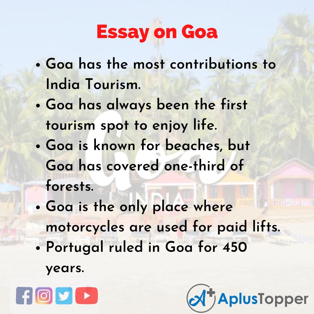 Essay of Goa