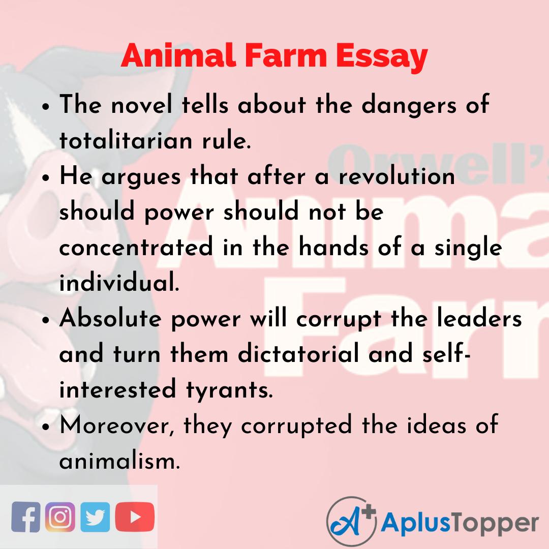 Essay on Animal Farm