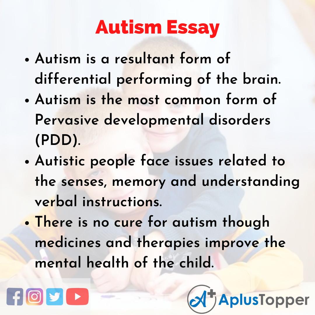 Essay on Autism