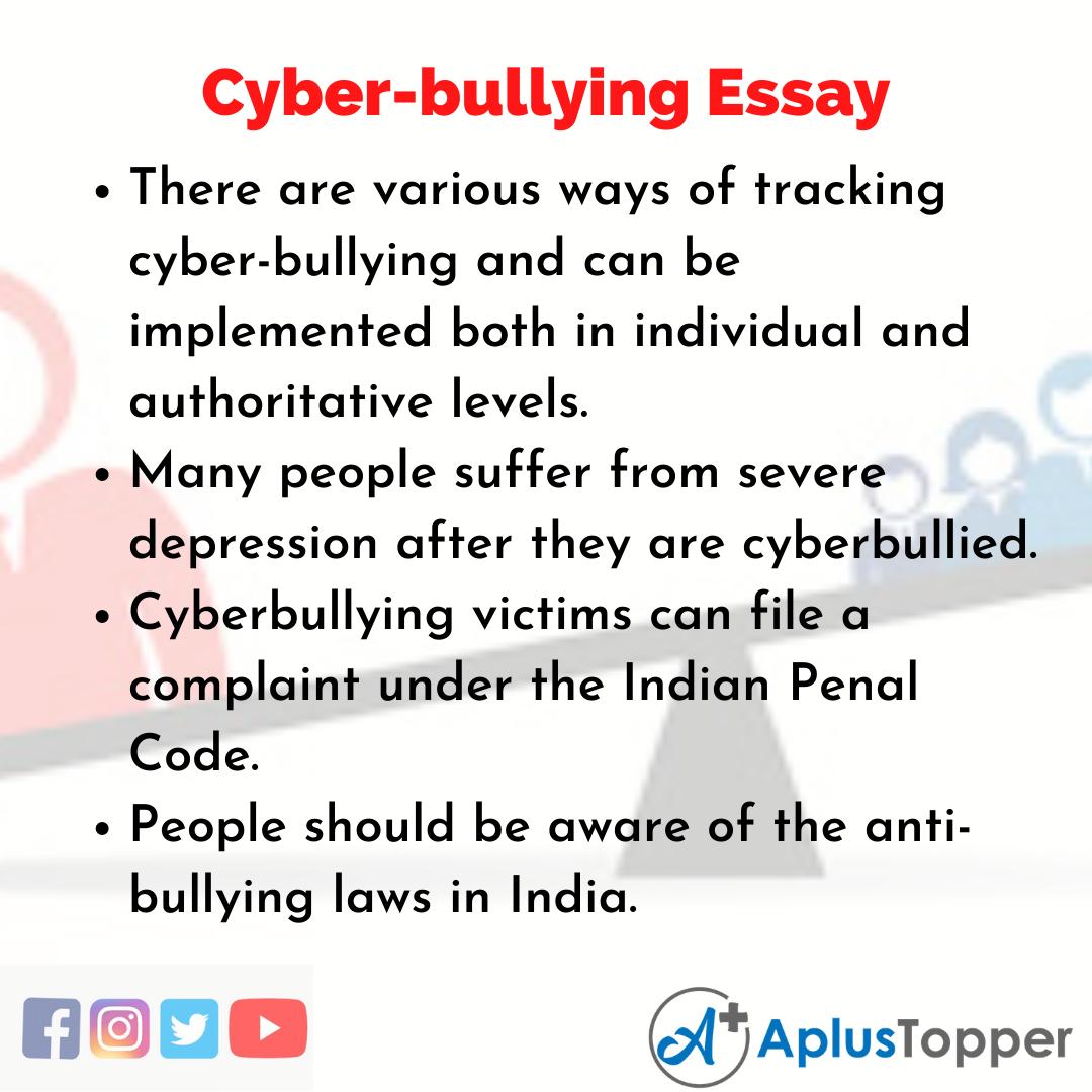 Essay on Cyber-bullying