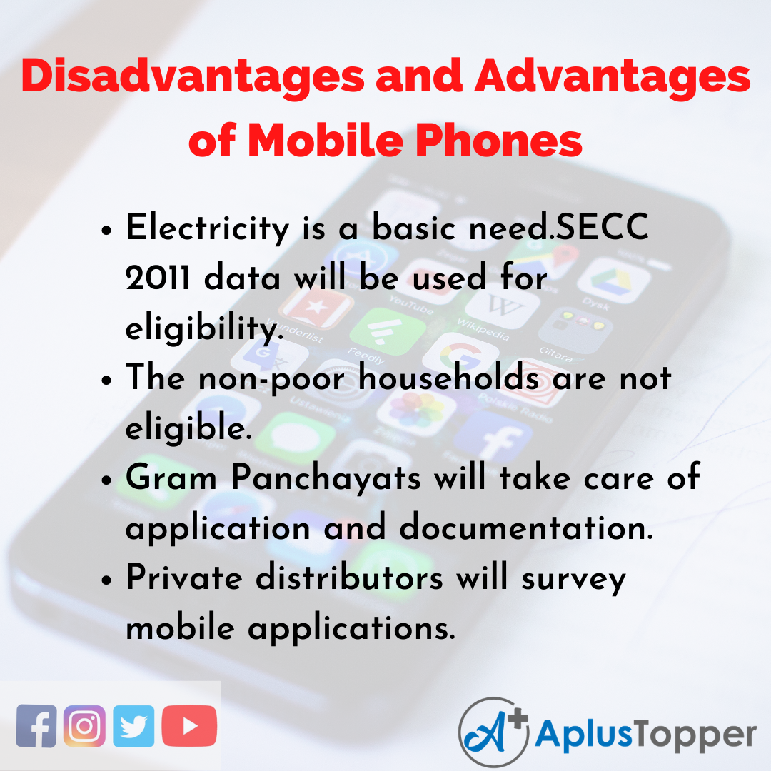 Essay on Disadvantages and Advantages of Mobile Phones