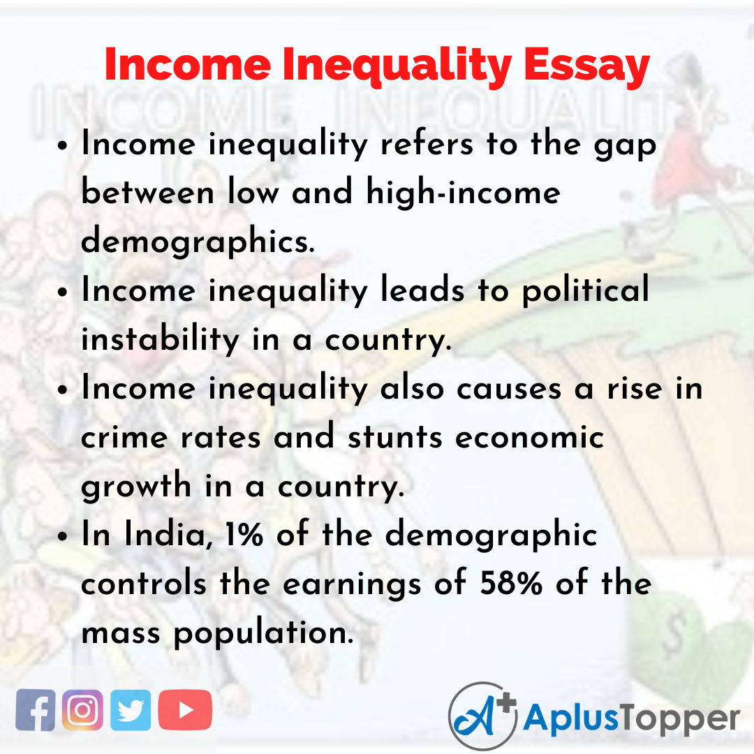 Essay on Income Inequality