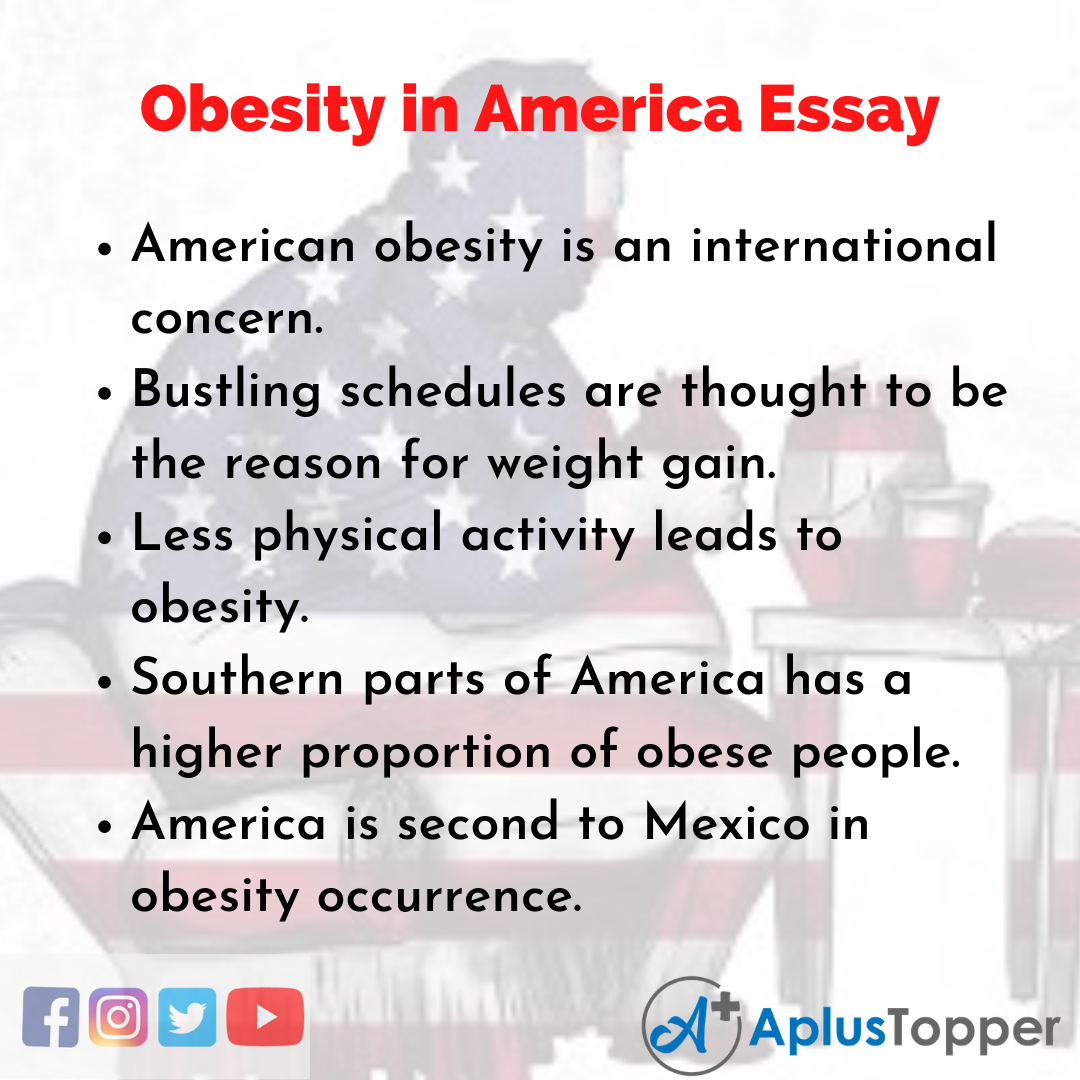Essay on Obesity in America
