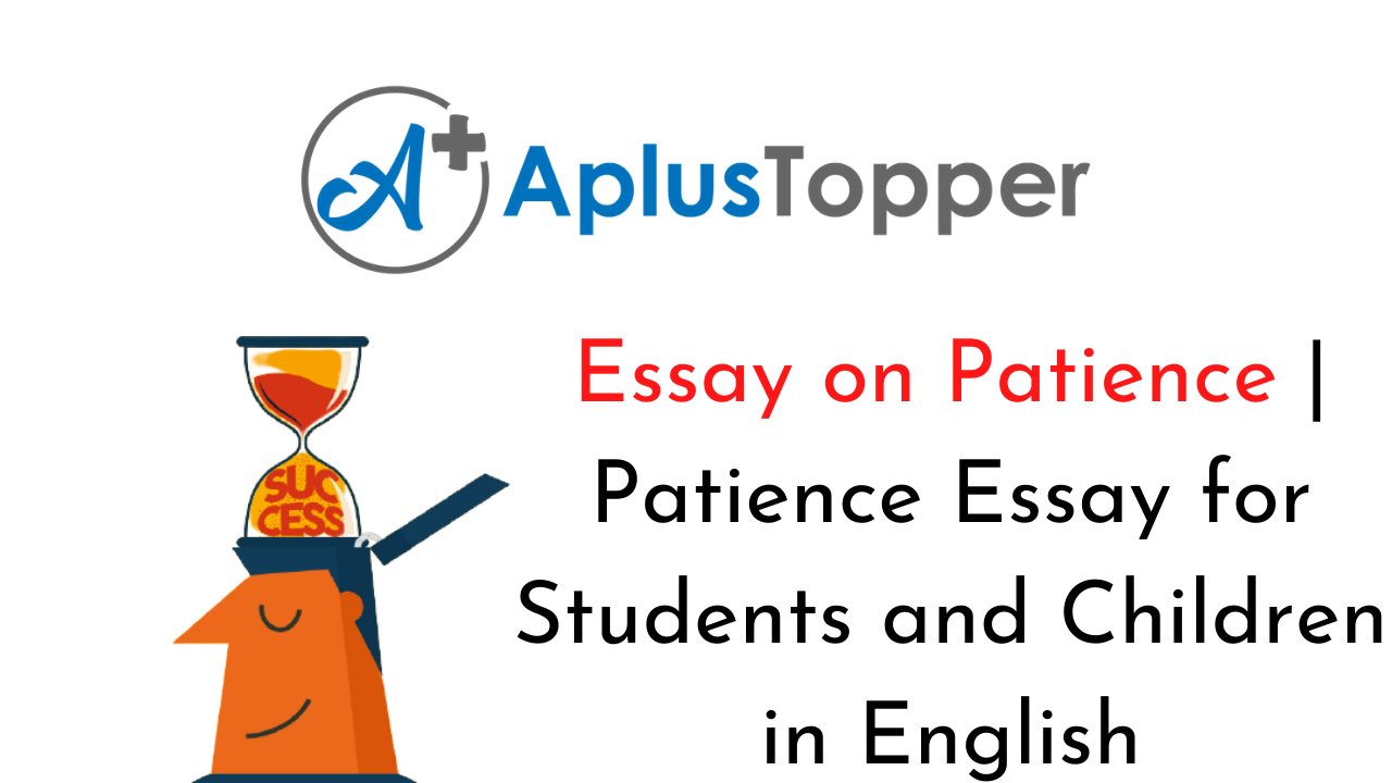 essay on quality of patience