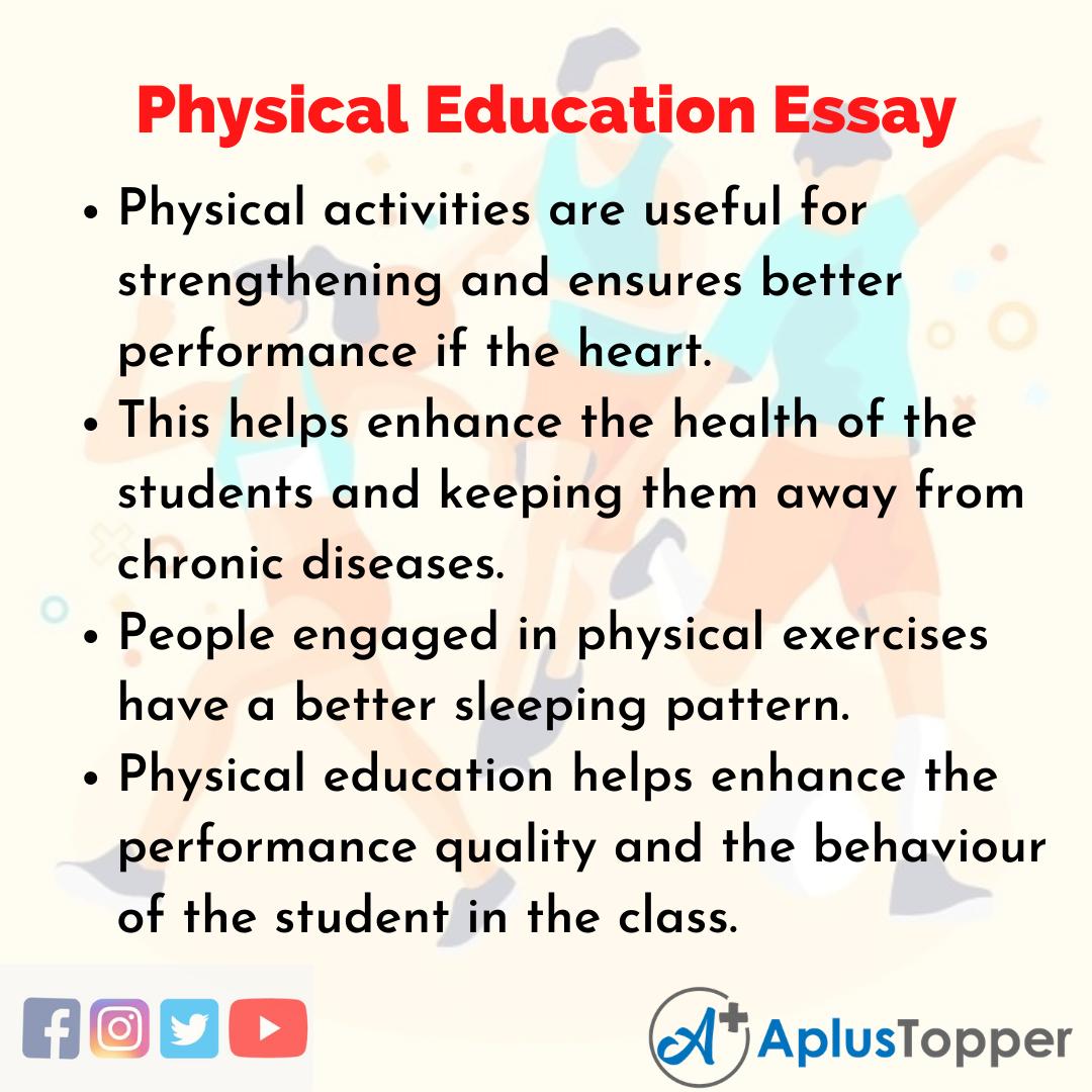 Essay on Physical Education