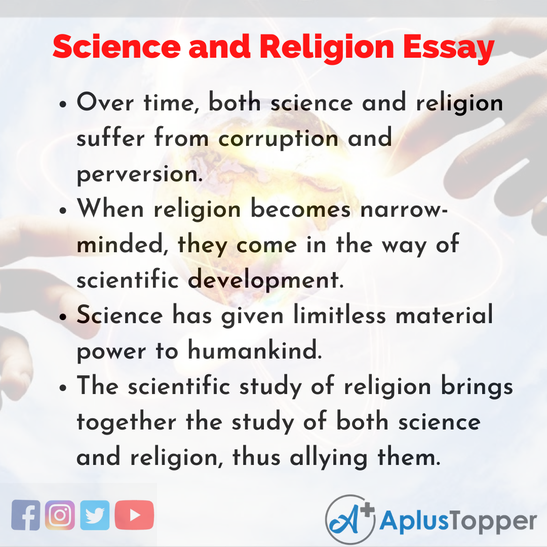 Essay on Science and Religion