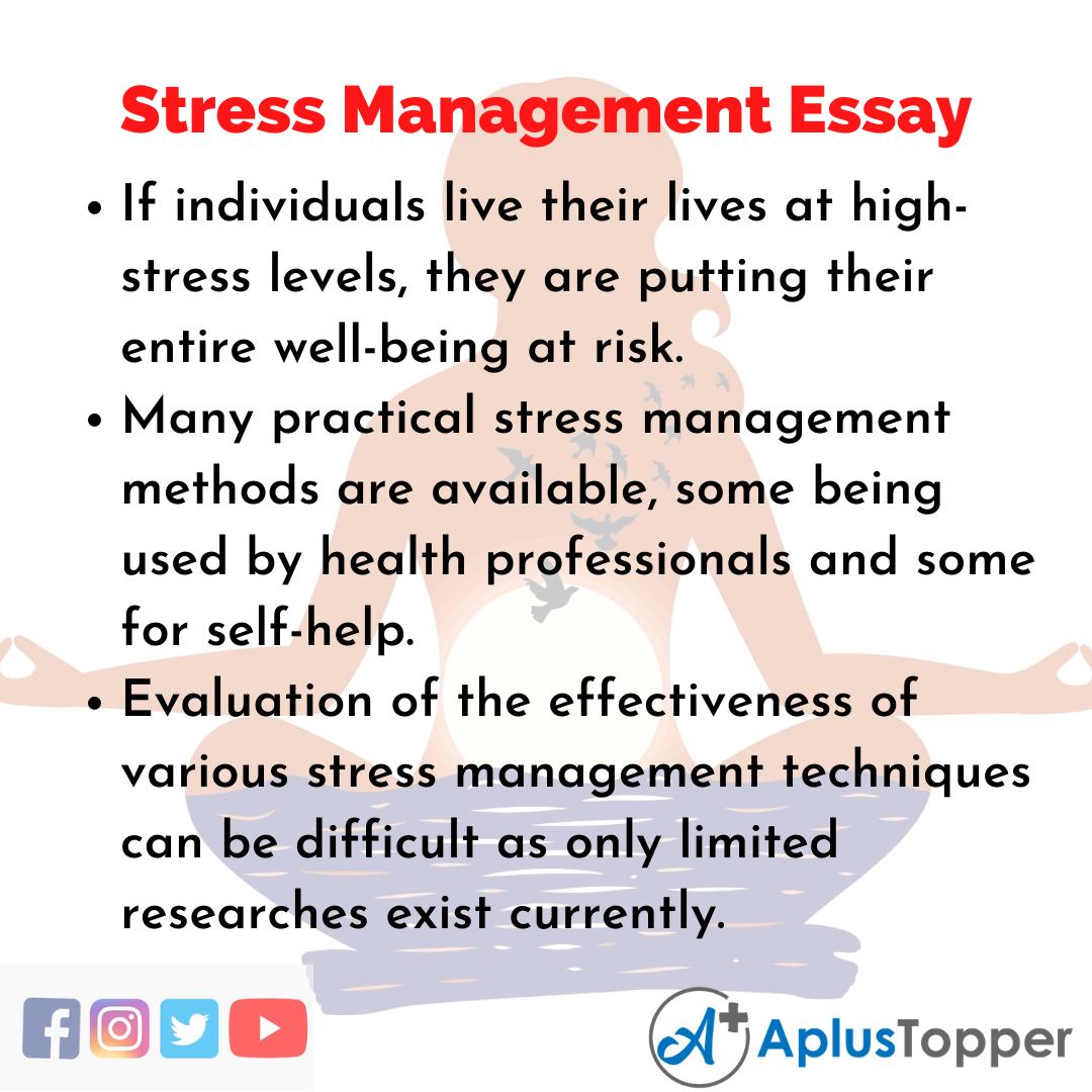 Essay on Stress Management