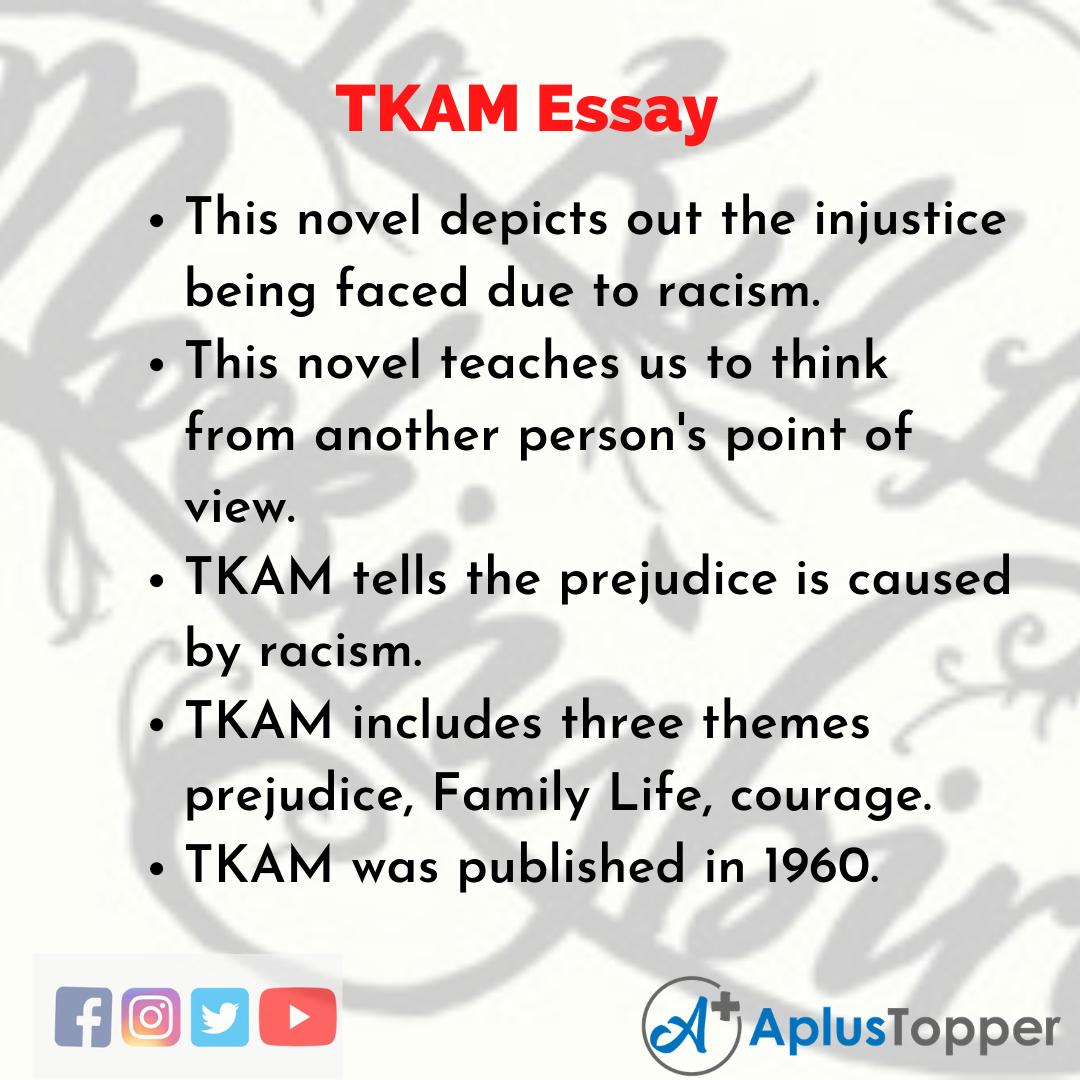 Essay on TKAM