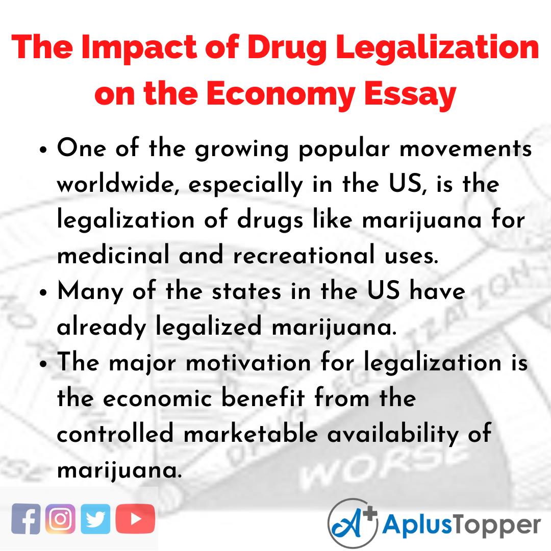Essay on the Impact of Drug Legalization on the Economy