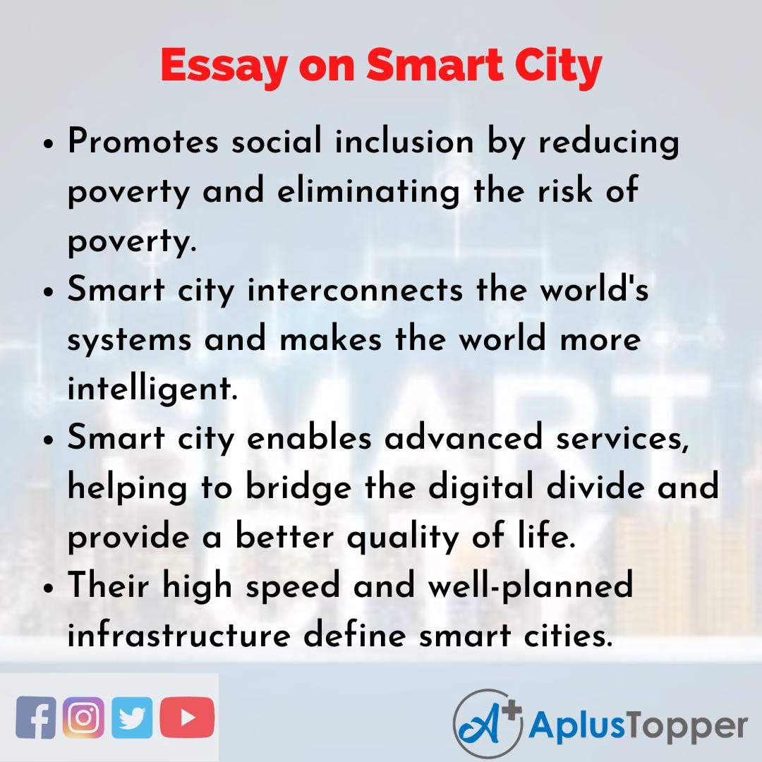 Smart City Essay