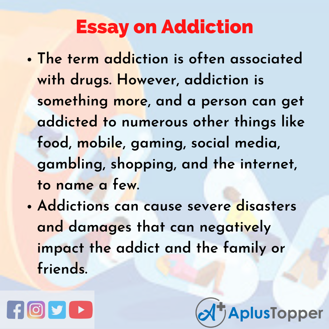 Essay about Addiction