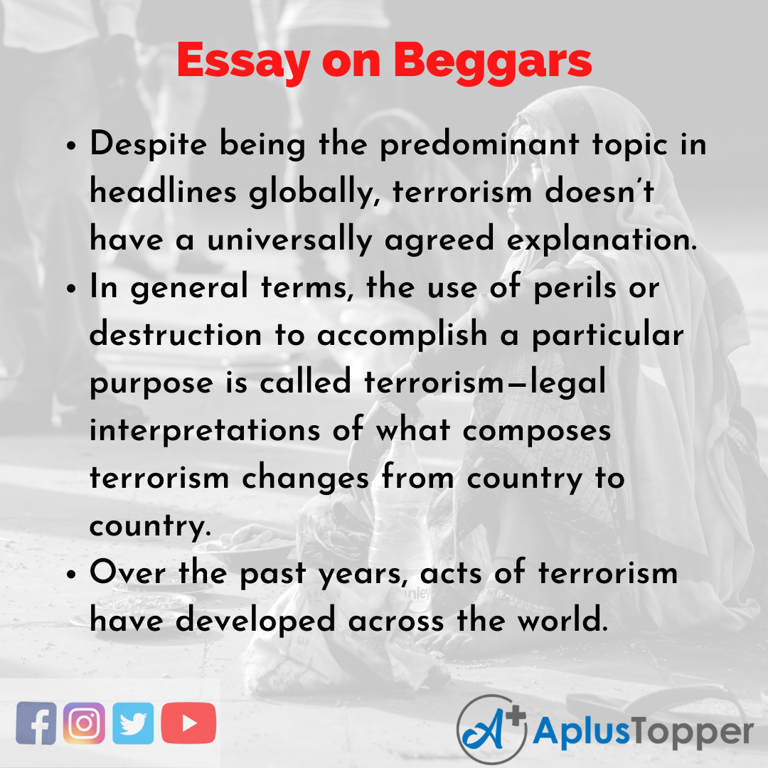 Essay about Beggars