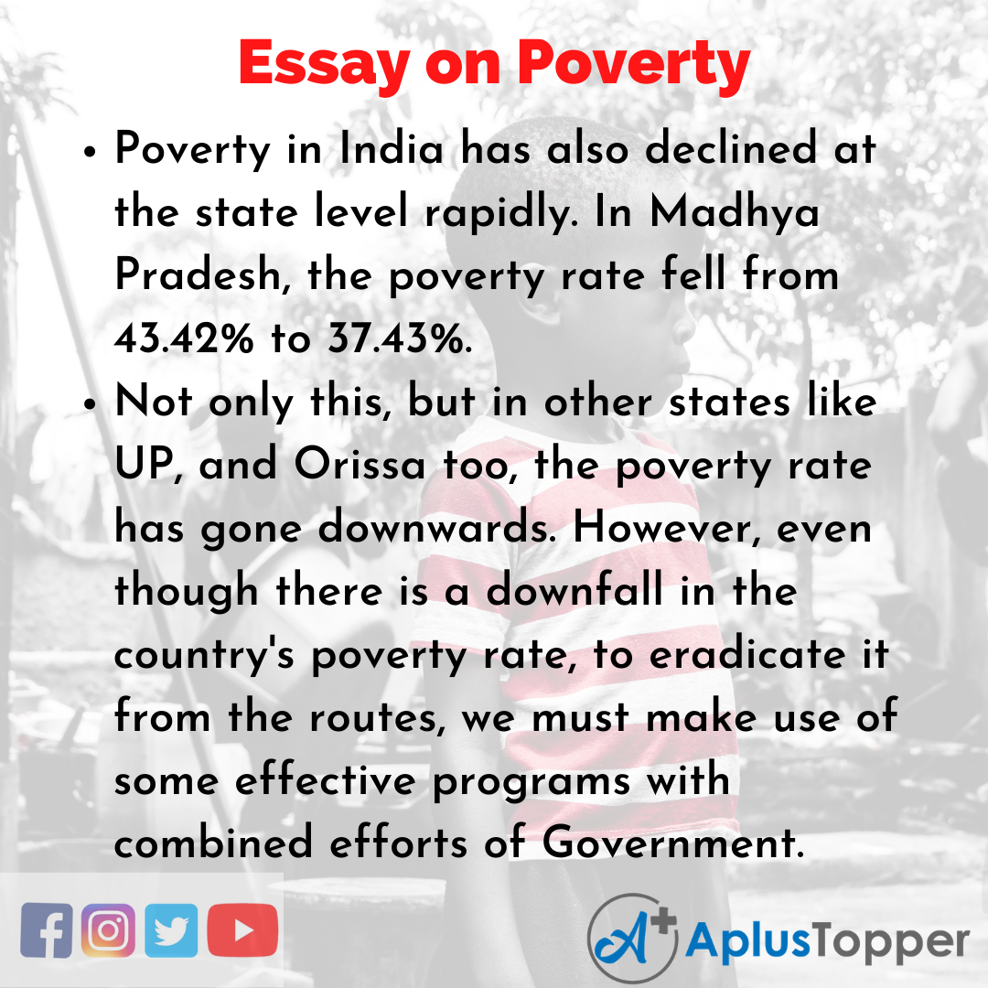 Essay about Poverty