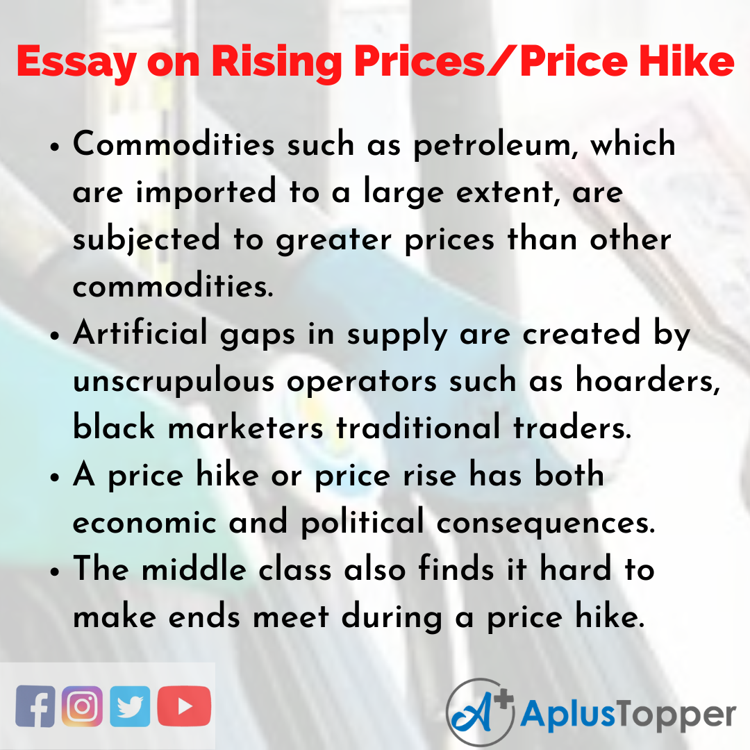 Essay on rising petrol prices in india cheap business plan proofreading website for masters