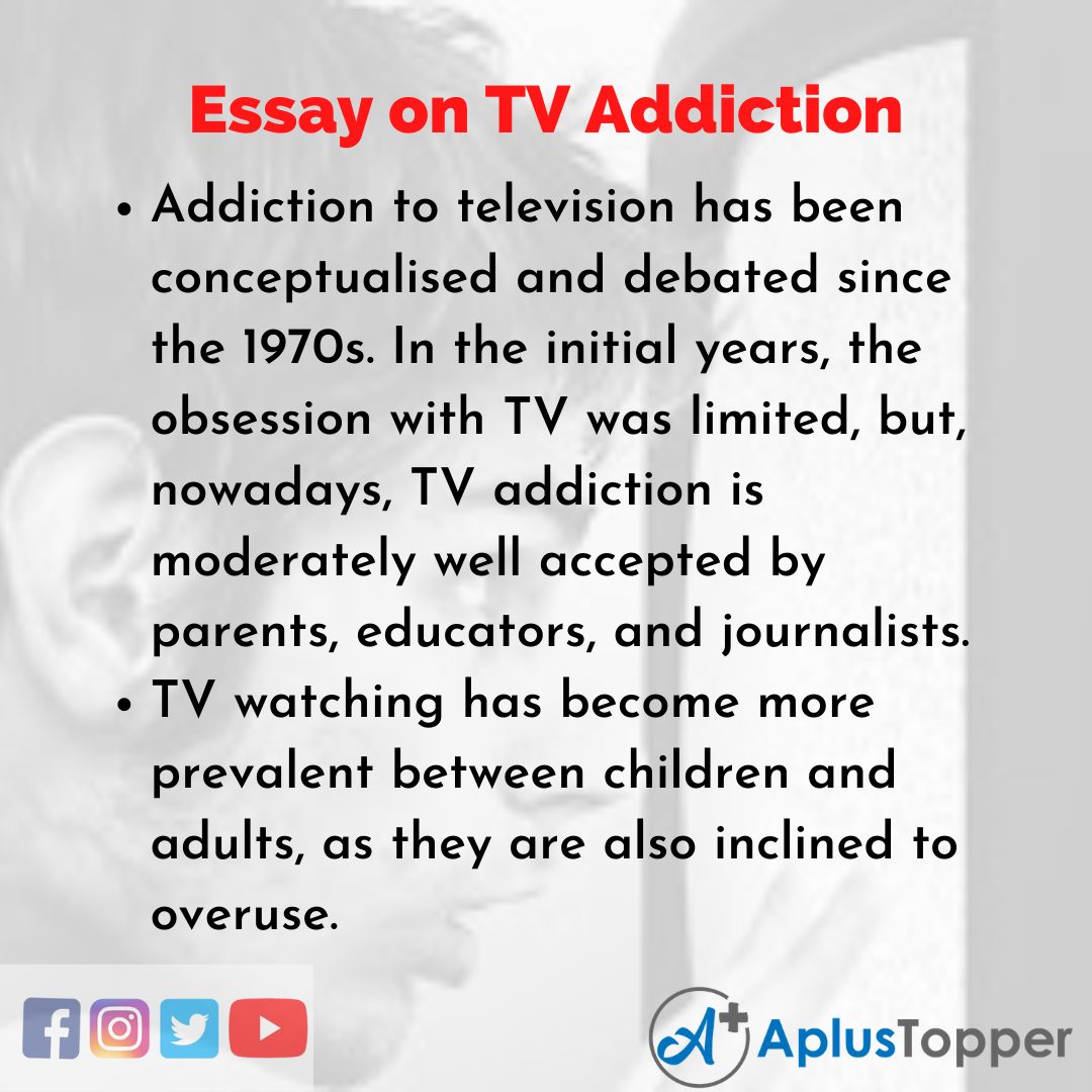 Essay about TV Addiction
