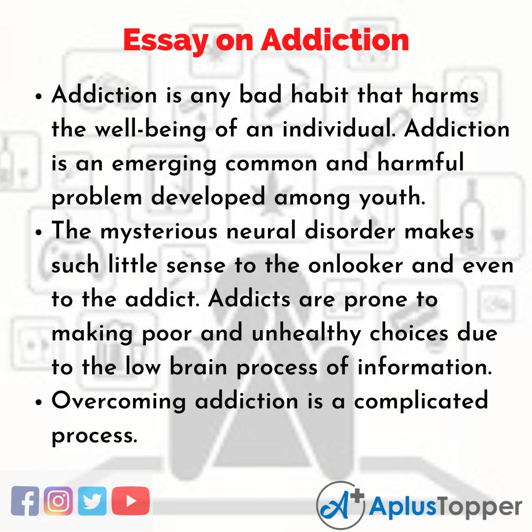 Essay on Addiction