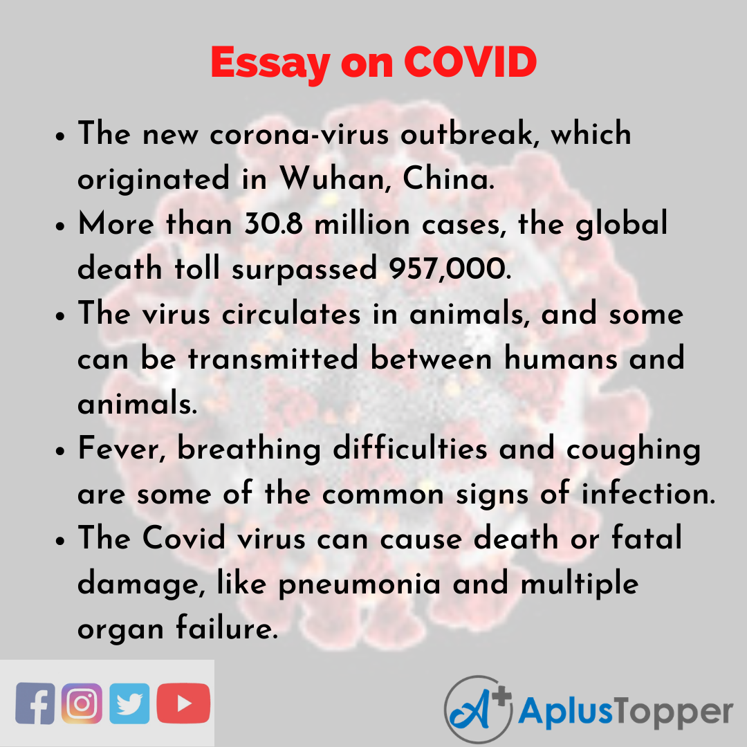 Essay on COVID