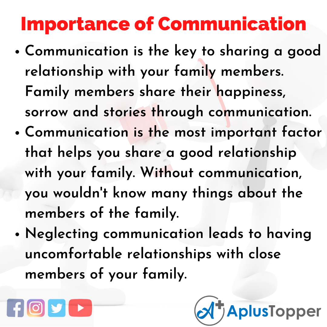 Essay on Importance of Communication