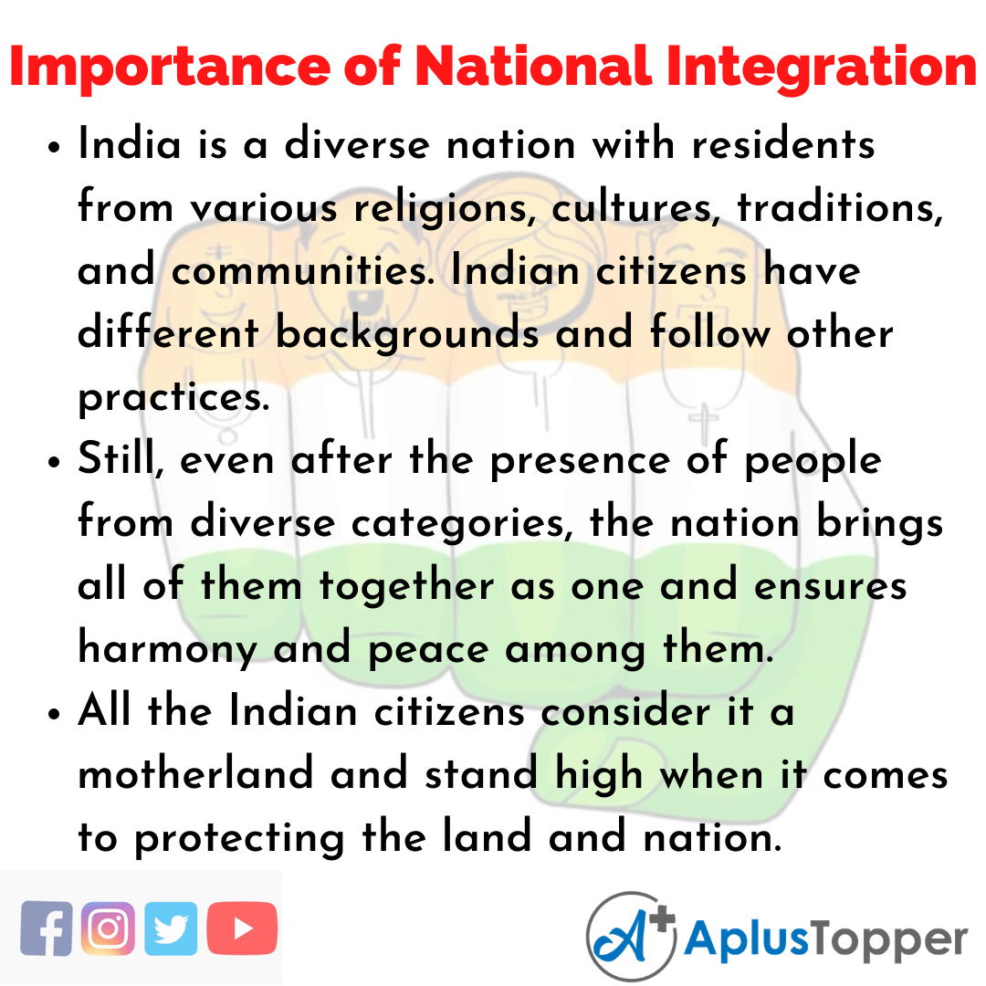 Essay on Importance of National Integration