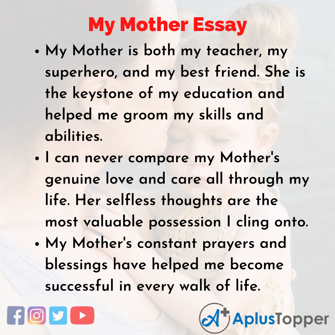 Essay on My Mother