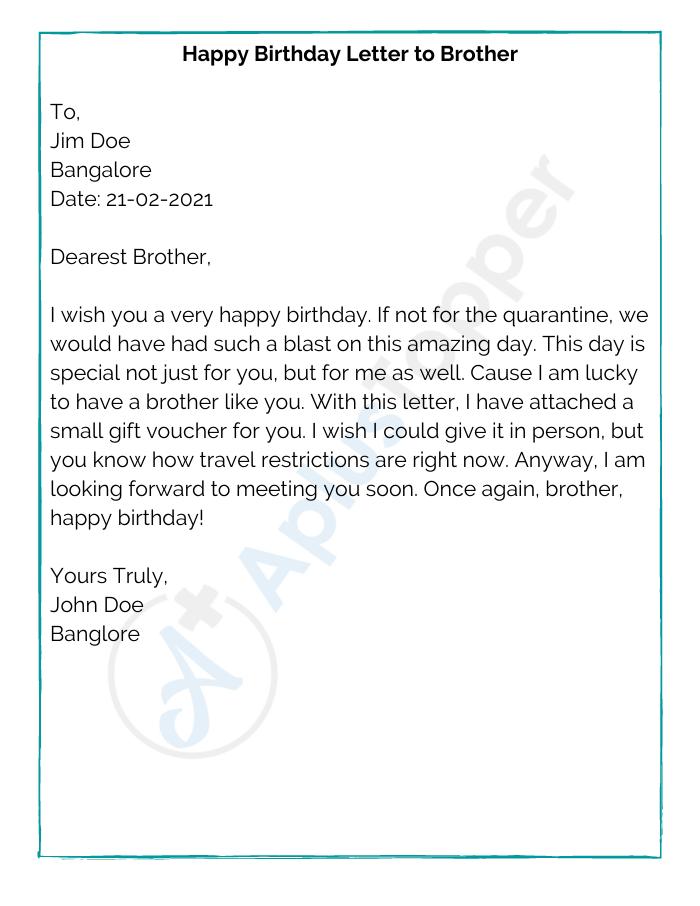How to write a happy birthday letter dark johnny no homework johnny