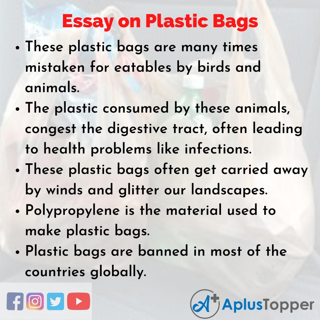 Plastic Bags Essay