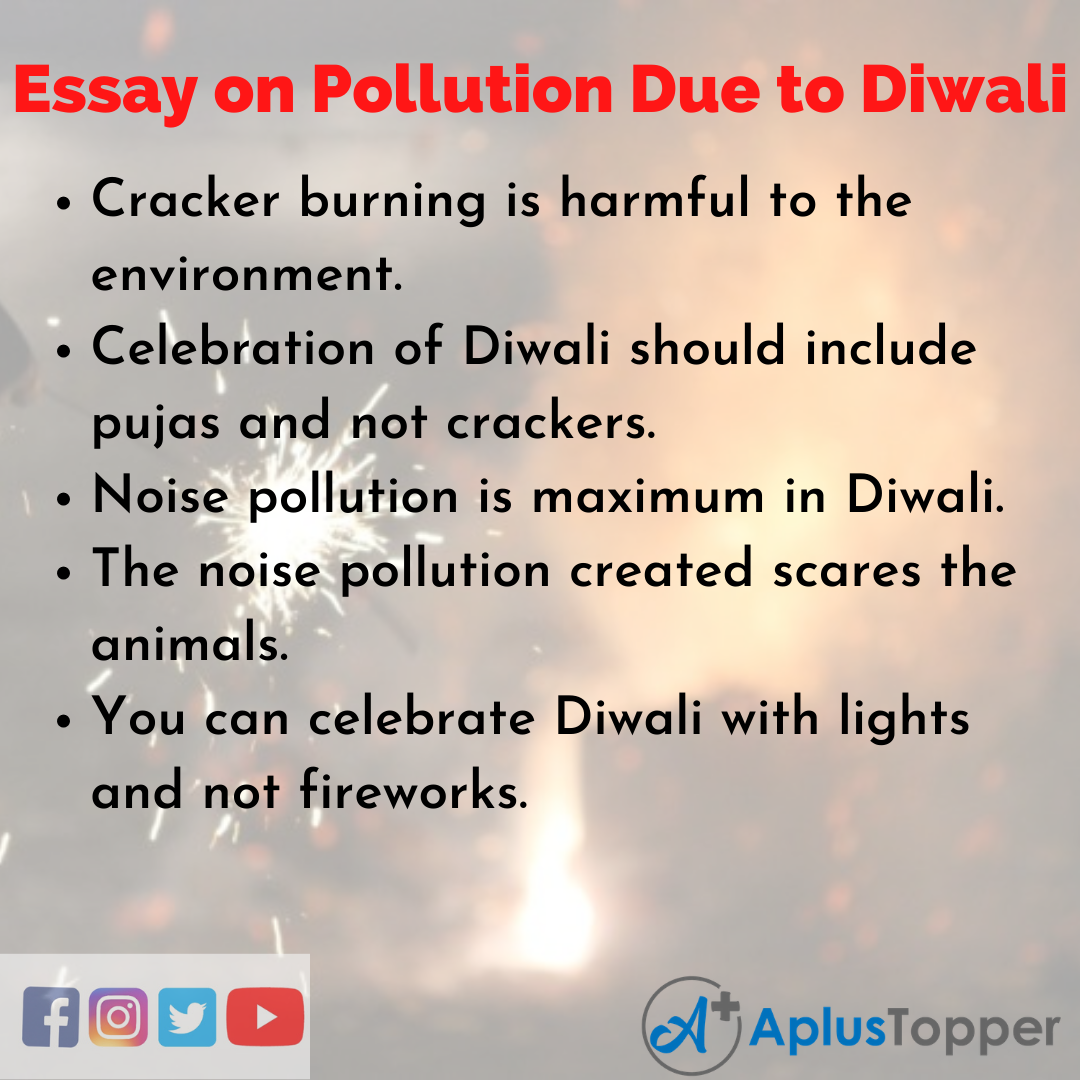Short Essay on Pollution Due to Diwali