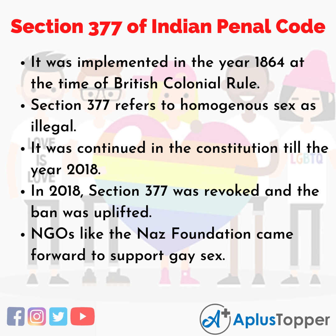 Long Essay on Section 377 of Indian Penal Code