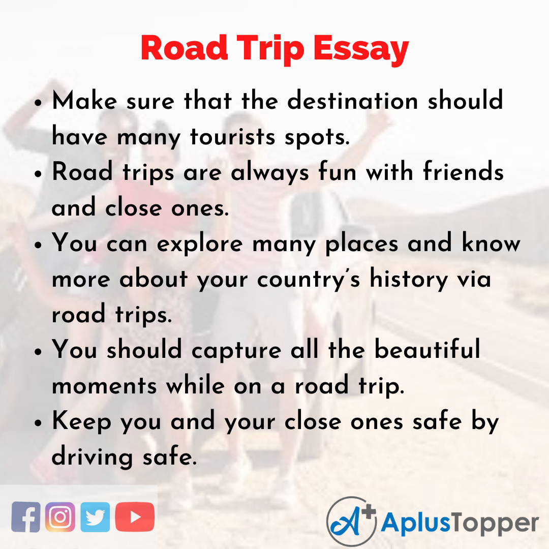 Road Trip Essay