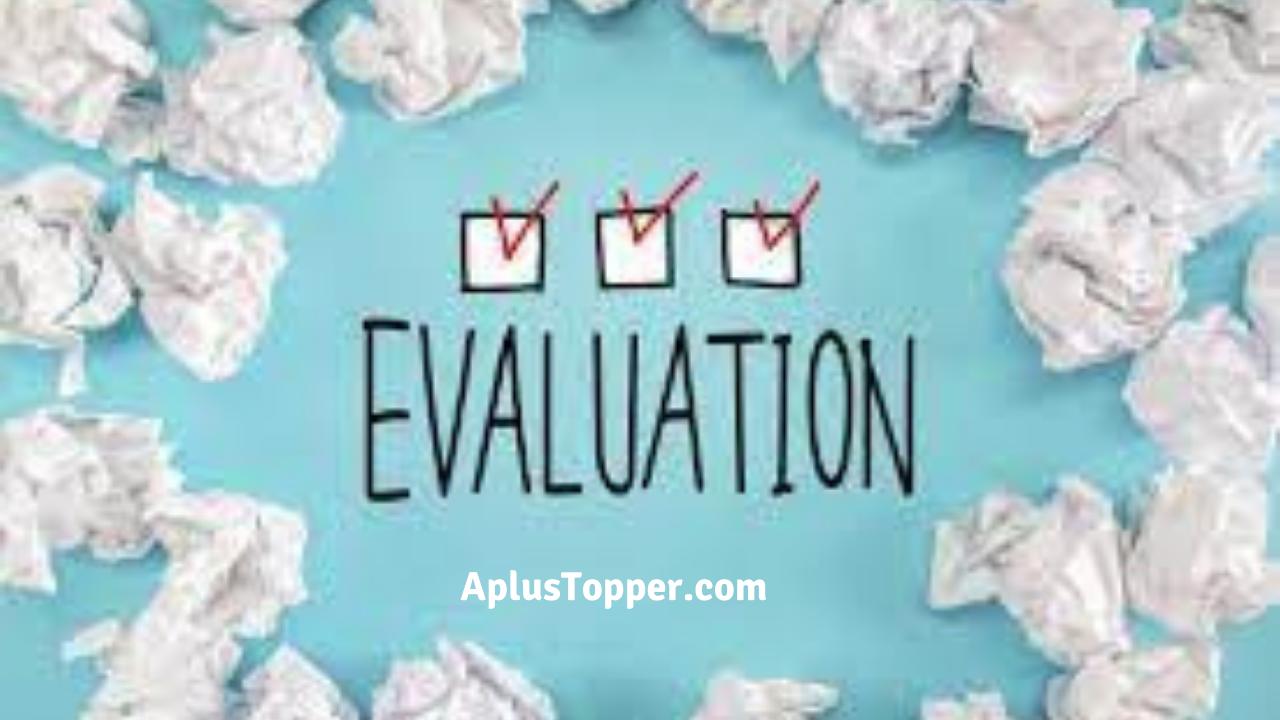 Essay on Evaluation