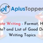 Debate Writing