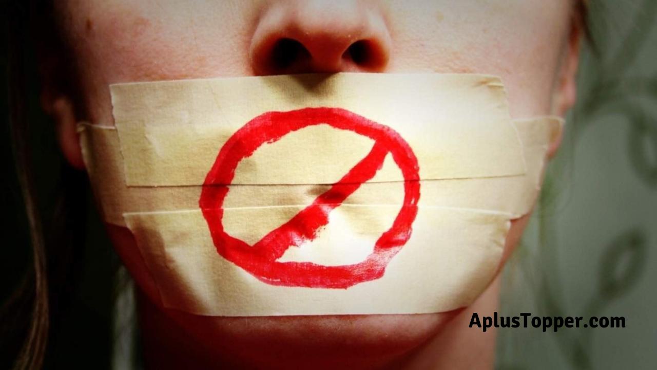 Debate on Freedom of Speech