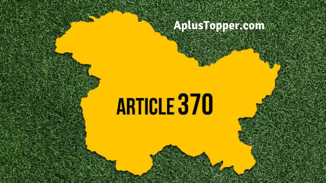 Article 370 Advantages