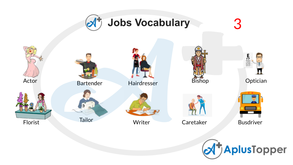 Jobs Vocabulary With Pictures