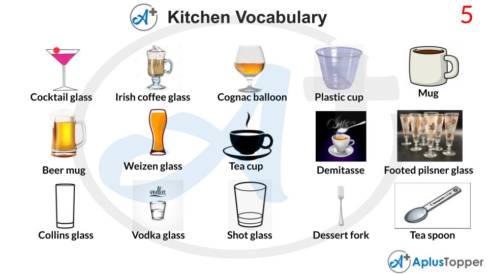 Kitchen Vocabulary PDF