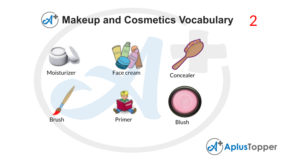 Makeup and Cosmetics Vocabulary With Images
