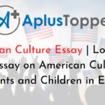 American Culture Essay